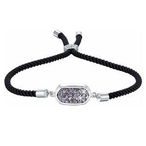 Jewelry - NEW!! Natural Drusy Quartz Bracelet
